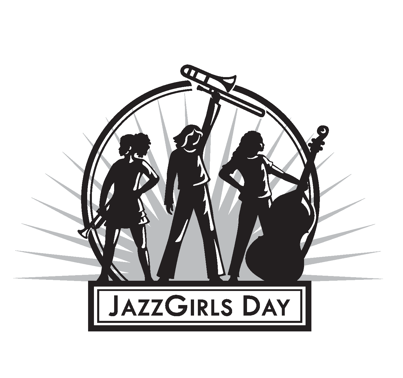 2018 Jazz Girls Day Logo