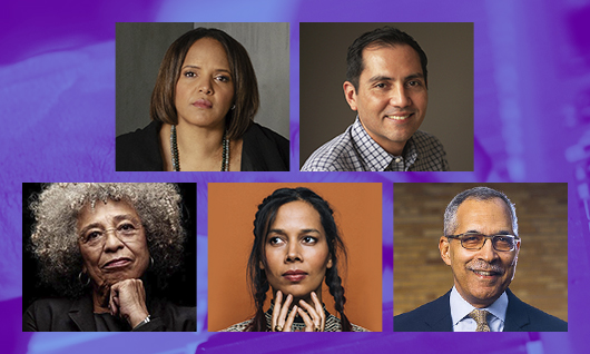 Jazz & Race Panelists Terri Lyne Carrington, Nate Chinen, Angela Davis, Rhiannon Giddens, & moderator Claude Steele