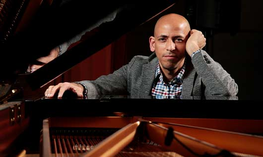 Pianist and SFJAZZ Collective member Edward Simon will perform live from SFJAZZ Center on March 18!