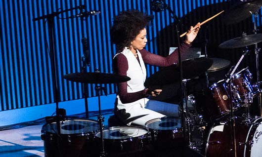 Master percussionist Cindy Blackman Santana pays tribute to the great Tony Williams