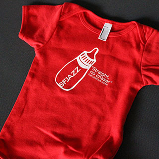 Red Thelonious Monk Onesie